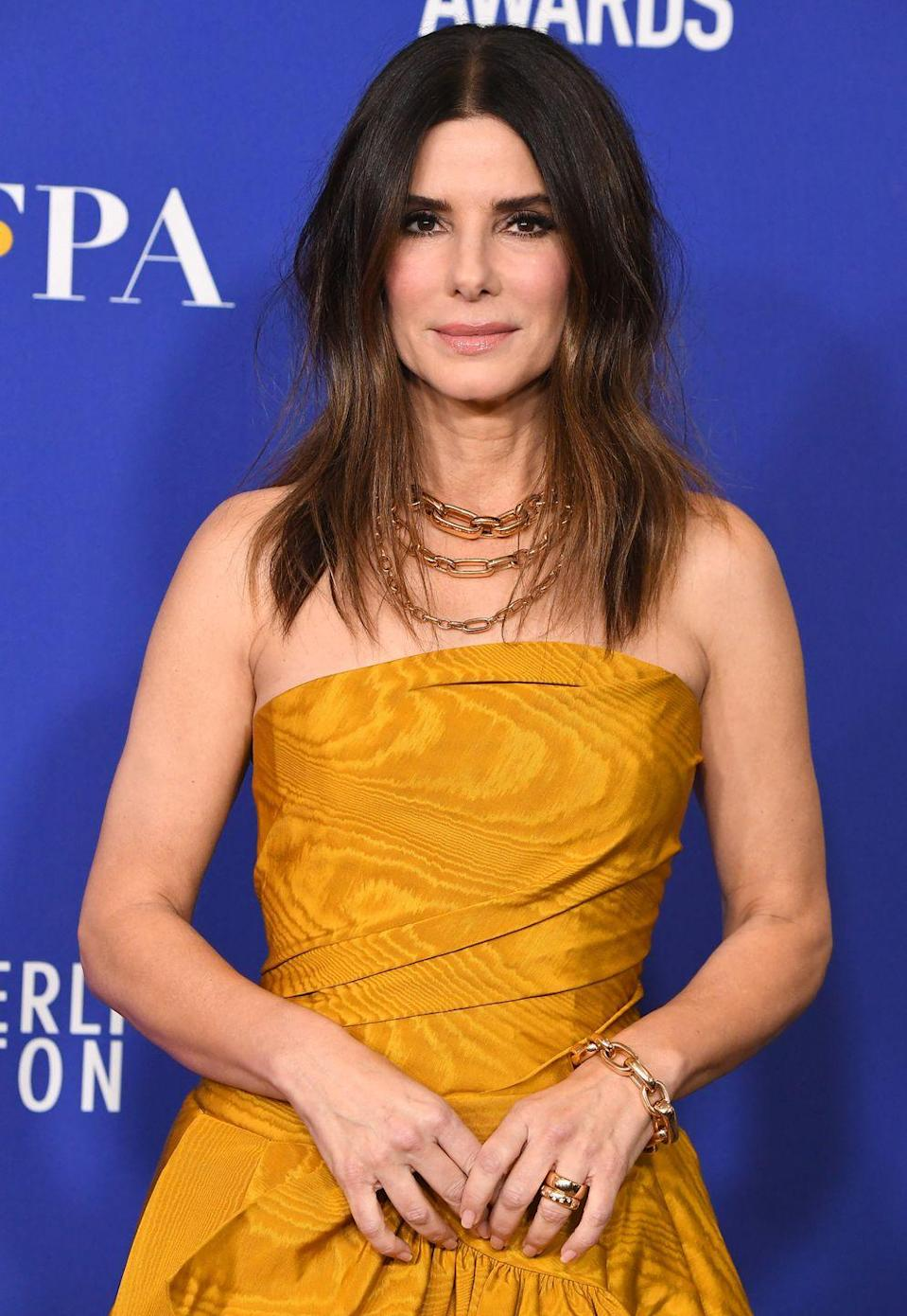 "<p><strong>Birthday: </strong>July 26</p><p><strong>Age Turning: </strong>56</p><p>If you're a big Sandra Bullock fan, might we suggest celebrating her big day with a marathon of <a href=""https://www.oprahmag.com/entertainment/tv-movies/g25636452/sandra-bullock-movies/"" rel=""nofollow noopener"" target=""_blank"" data-ylk=""slk:some of her best movies"" class=""link rapid-noclick-resp"">some of her best movies</a>?</p>"