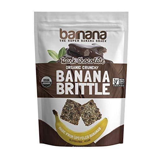 <p>We could easily eat the entire bag of this <span>Barnana Organic Crunchy Banana Brittle</span> ($5).</p>