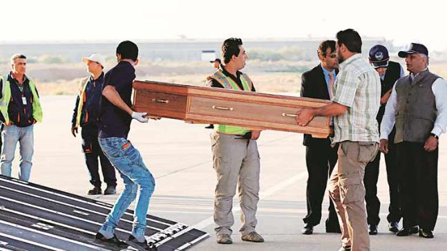 VK Singh will land in Amritsar today with bodies of 38 Indians, who went missing in in Mosul in June 2014.