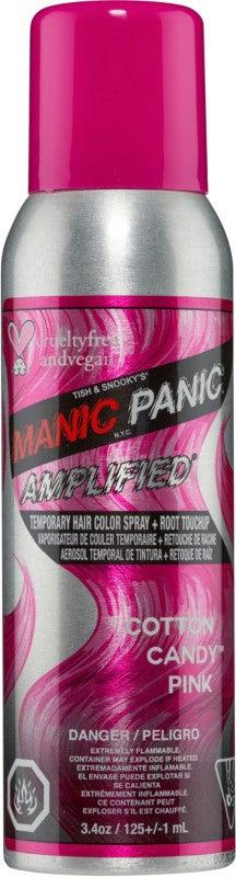 """<h3>Manic Panic Amplified Color Spray Temporary Hair Color<br></h3><br>Not only will this Manic Panic spray completely coat your stands in color, but it's also vegan and cruelty-free, which makes it guilt-free to use.<br><br><strong>Manic Panic</strong> Amplified Color Spray, $, available at <a href=""""https://go.skimresources.com/?id=30283X879131&url=https%3A%2F%2Fwww.ulta.com%2Famplified-color-spray%3FproductId%3Dpimprod2002252"""" rel=""""nofollow noopener"""" target=""""_blank"""" data-ylk=""""slk:Ulta Beauty"""" class=""""link rapid-noclick-resp"""">Ulta Beauty</a>"""