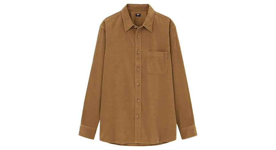 Men's Corduroy Fit Shirt