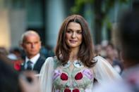 <p>She'll celebrate her 47th birthday next week and Rachel Weisz has never looked better (Photo: PA) </p>