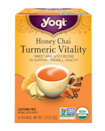 <p>This <span>Yogi Honey Chai Turmeric Vitality Tea</span> ($4.49) is so yummy, and has a bunch of good-for-you ingredients.</p>