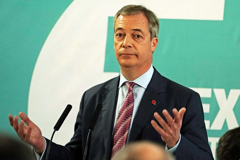 Brexit Party leader Nigel Farage (PA)