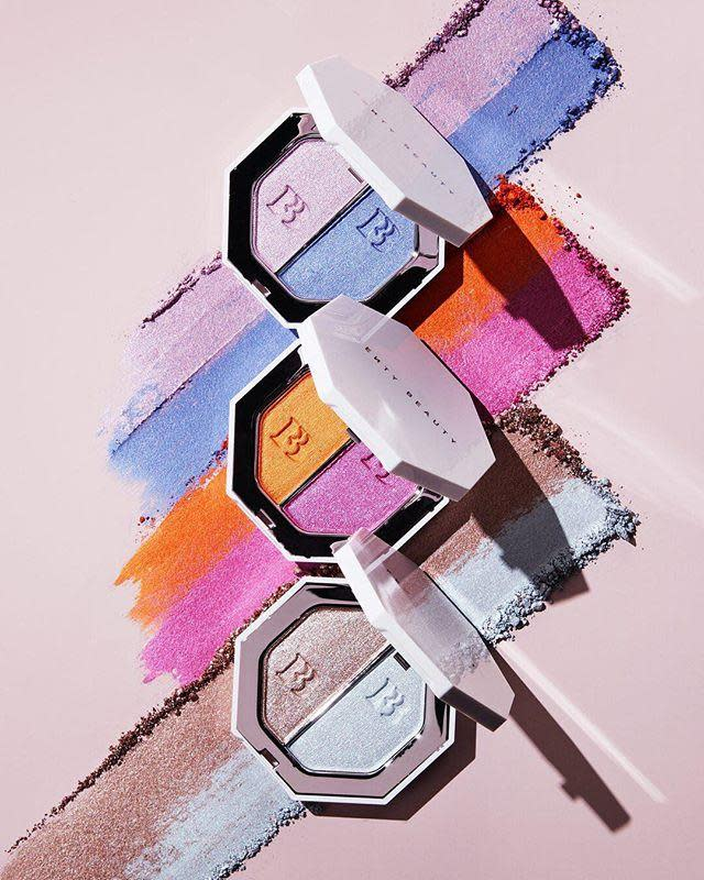 "<p>This list wouldn't be complete without Rihanna's Fenty Beauty, which launched in September 2017 and changed the beauty industry as we know it with 40 shades of foundation and killer highlighters made for glowing on deep skin. </p><p><em>Fenty Beauty Killawatt Foil Freestyle Highlighter Duo, $36; fentybeauty.com</em></p><p><a class=""link rapid-noclick-resp"" href=""https://go.redirectingat.com?id=74968X1596630&url=https%3A%2F%2Fwww.fentybeauty.com%2Fkillawatt-foil%2Ffreestyle-highlighter-duo%2FFB30007.html%3Fdwvar_FB30007_color%3DFB4034&sref=https%3A%2F%2Fwww.elle.com%2Fbeauty%2Fmakeup-skin-care%2Fg20896653%2Fmakeup-for-women-of-color%2F"" rel=""nofollow noopener"" target=""_blank"" data-ylk=""slk:SHOP NOW"">SHOP NOW</a><br></p><p><a href=""https://www.instagram.com/p/BjBonKsAMCL/?hl=en&taken-by=fentybeauty"" rel=""nofollow noopener"" target=""_blank"" data-ylk=""slk:See the original post on Instagram"" class=""link rapid-noclick-resp"">See the original post on Instagram</a></p>"