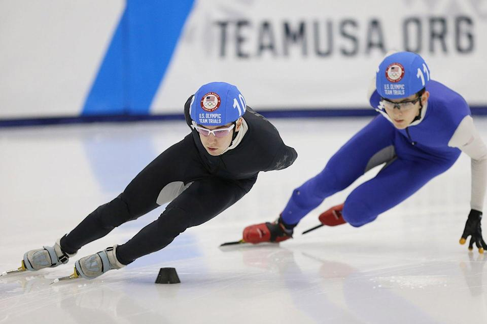 """<p><strong>Age: </strong>22</p><p><strong>Hometown:</strong> Ann Arbor, MI</p><p><strong>Event:</strong> Short Track Speedskating</p><p>Although speedskating looks graceful, it requires an insane level of strength and endurance. Ryan Pivirotto has lived in South Korea for the past two years, honing his speed and racing technique via weights and interval training. """"Nutrition helps you absorb the right vitamins and minerals in order to fuel your body for long and effective training,"""" he says.</p>"""