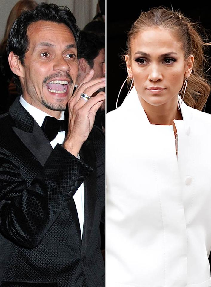 """Marc Anthony and Jennifer Lopez were supposed to shoot auditions together for their Spanish-language competition show """"Q'Viva,"""" but Anthony """"refused"""" because of a """"monumental blow-up"""" they had over her new boyfriend Casper Smart, reveals Radar Online. For how ugly it got, and the way J. Lo rubbed her new romance in Anthony's face, see what their friend leaks to <a target=""""_blank"""" href=""""http://www.gossipcop.com/marc-anthony-jennifer-lopez-fight-q-viva-the-chosen-casper-smart-j-lo/"""">Gossip Cop</a>."""