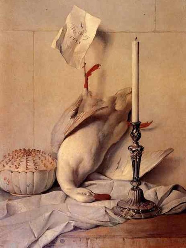 White Duck by Jean-Baptiste Oudry. (Sumber: Wikipedia commons)