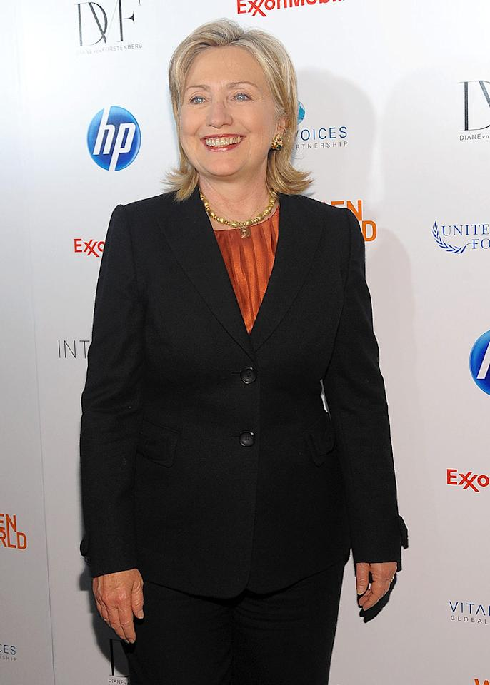 "October 26: Hillary Clinton turns 63 Jamie McCarthy/<a href=""http://www.wireimage.com"" target=""new"">WireImage.com</a> - March 12, 2010"