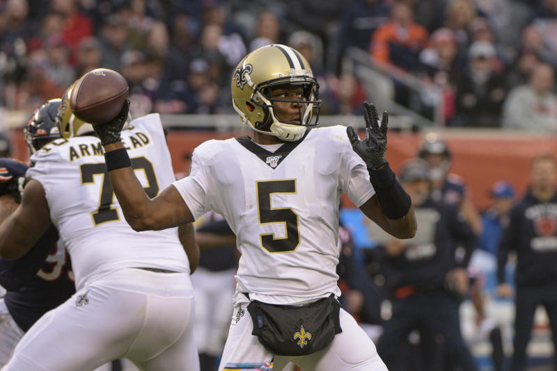Teddy Bridgewater may be going to Carolina. (AP Photo/Mark Black, File)