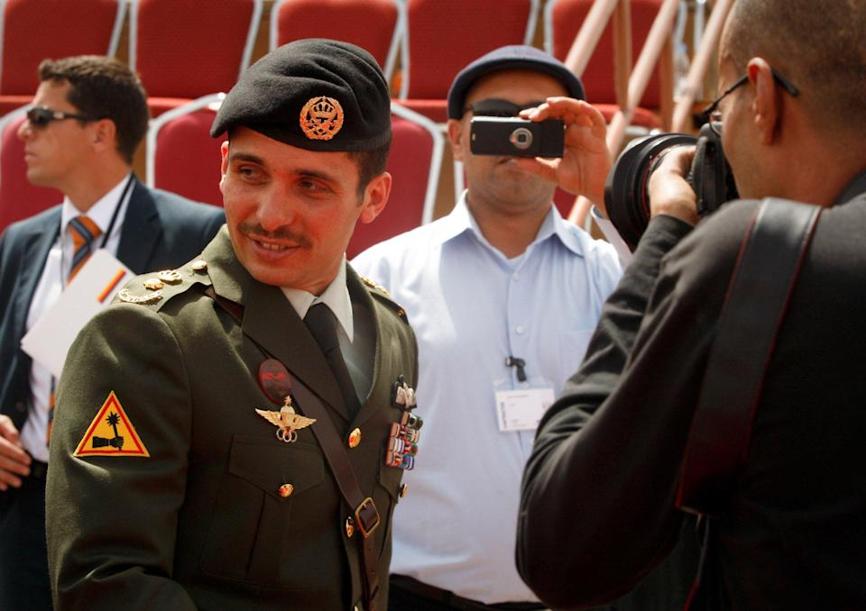 Prince Hamzah Bin al-Hussein attends the SOFEX Jordan (Special Operations Forces Exhibition and Conference) on 11 May 2010 in Amman, JordanGetty