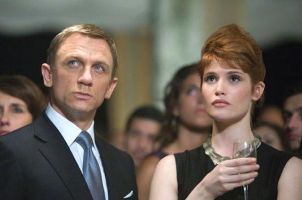 "Dans ""Quantum of Solace"", Gemma Arterton donnait la réplique à Daniel Craig. (Photo: Sony Pictures Releasing France)"