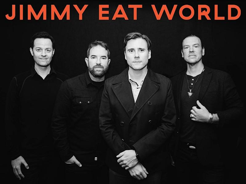 Jimmy Eat World was originally scheduled to perform in Singapore and Manila this month.