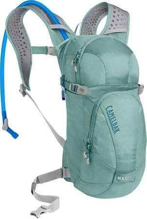 """<h3>CamelBak Women's Magic 70 oz Hydration Pack</h3> <br>Water isn't gendered, but once you get past the name, you'll see that this hydration pack is actually a hiking game changer. The attached straw makes it easy for you to stay hydrated during every mile of your hike, without having to stop for water breaks. (Related: May we recommend this helpful resource to all things <a href=""""https://www.refinery29.com/en-us/where-to-pee-must-haves-for-peeing-outside"""" rel=""""nofollow noopener"""" target=""""_blank"""" data-ylk=""""slk:outdoor urination"""" class=""""link rapid-noclick-resp"""">outdoor urination</a>?)<br><br><strong>CamelBak</strong> Women's Magic 70 oz Hydration Pack, $, available at <a href=""""https://go.skimresources.com/?id=30283X879131&url=https%3A%2F%2Fwww.camelbak.com%2Fen%2Fpacks%2FR01133--Womens_Magic_70_oz_Hydration_Pack"""" rel=""""nofollow noopener"""" target=""""_blank"""" data-ylk=""""slk:CamelBak"""" class=""""link rapid-noclick-resp"""">CamelBak</a><br>"""