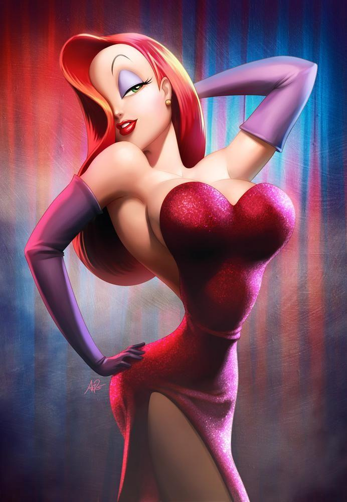 She wanted to become like her fictional idol Jessica Rabbit. Photo: Warner Bros