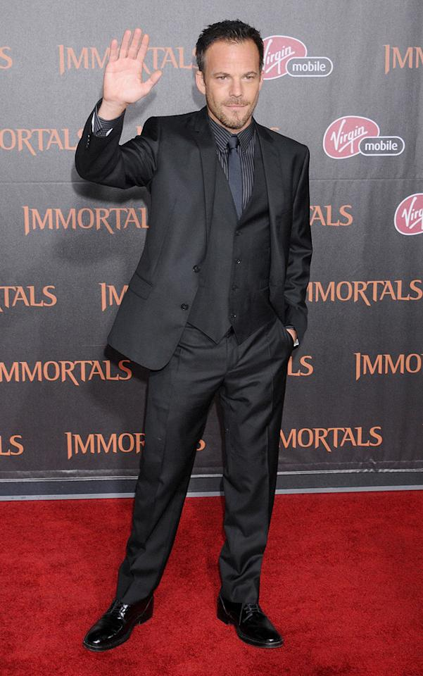 "<a href=""http://movies.yahoo.com/movie/contributor/1800020665"">Stephen Dorff</a> at the Los Angeles premiere of <a href=""http://movies.yahoo.com/movie/1810150710/info"">Immortals</a> on November 7, 2011."