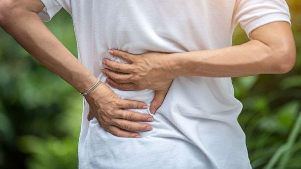 PHOTO: A person with back pain. (STOCK PHOTO/Getty Images)