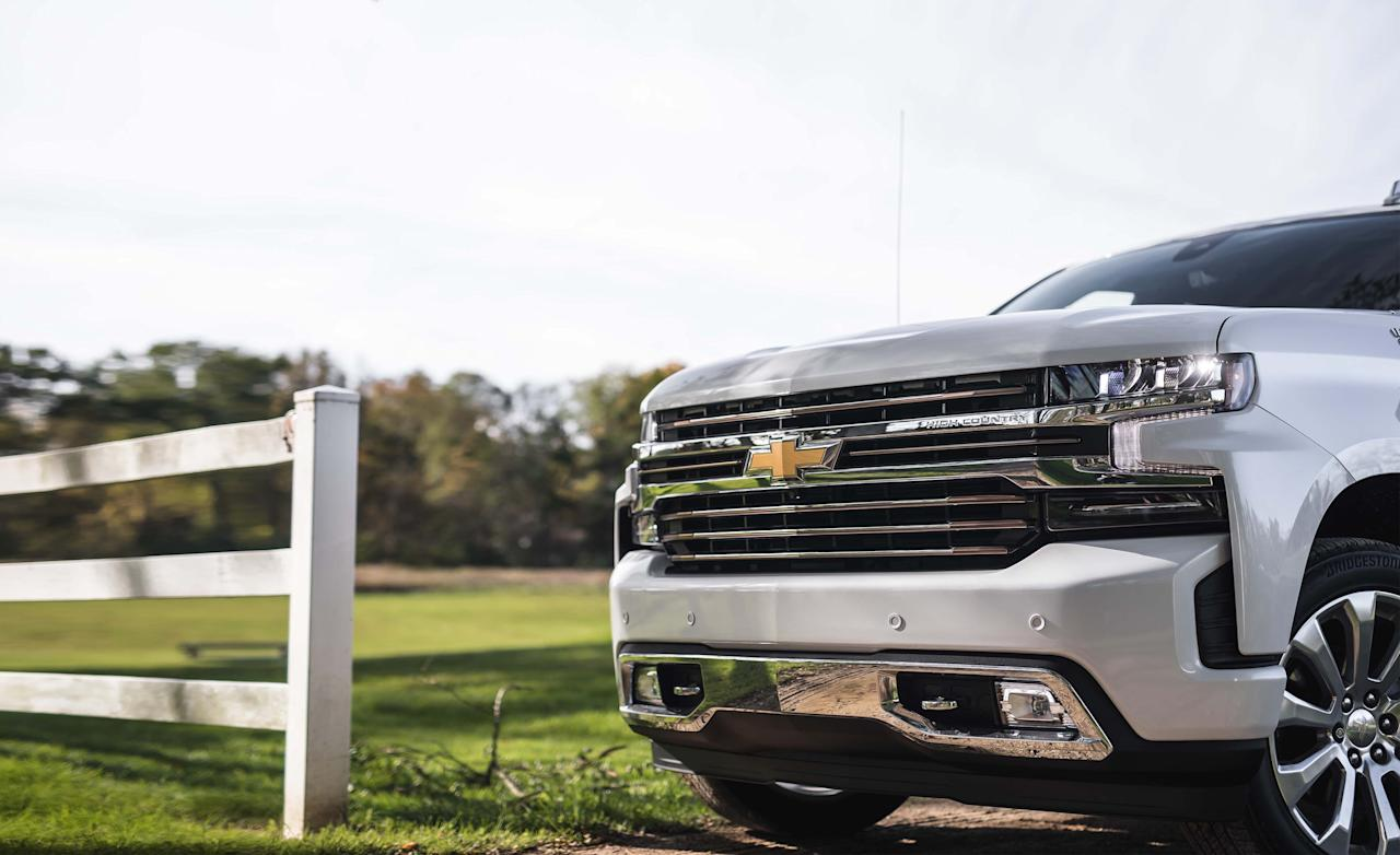 """<p>In redesigning <a rel=""""nofollow"""" href=""""https://www.caranddriver.com/chevrolet/silverado-1500"""">its full-size Silverado pickup</a> for 2019, Chevrolet proceeded with caution. The styling isn't quite as staid as last time but not terribly daring, either The materials mix has evolved but isn't revolutionary, and the chassis and suspension have been updated rather than rethought. There are changes in the engine room, but they're on the periphery, with <a rel=""""nofollow"""" href=""""https://www.caranddriver.com/reviews/2019-chevy-silverado-1500-four-cylinder-drive"""">a 2.7-liter turbocharged four as a new engine</a> for some models and a six-cylinder turbo-diesel set to join the mix soon. Traditional V-8s are again the mainstays and are available in two sizes: 5.3- and 6.2-liter. The latter is the largest engine offered in a half-ton pickup, aimed at buyers who hold fast to the tenet that there's no replacement for displacement.</p>"""
