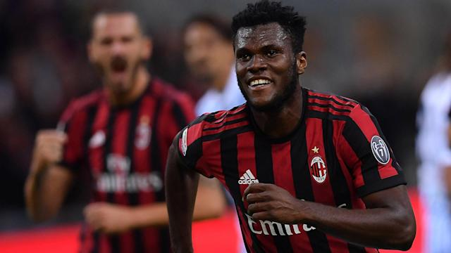 The 21-year-old featured in every league game but one in his first season at the San Siro Stadium