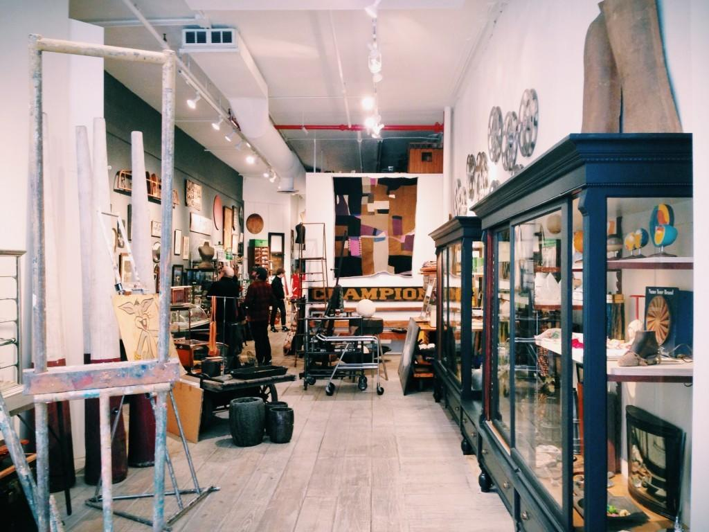 "<p><a href=""http://www.paularubenstein.com"">""Paula Rubinstein's</a> antique store on Bond Street in Noho is my favorite haunt in the whole city—she has a beautifully curated shop and she sees with an artist's eye."" </p>"