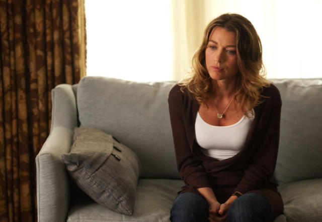 "Claire Matthews (Natalie Zea) is Joe Carroll's ex-wife in the new drama ""The Following."""