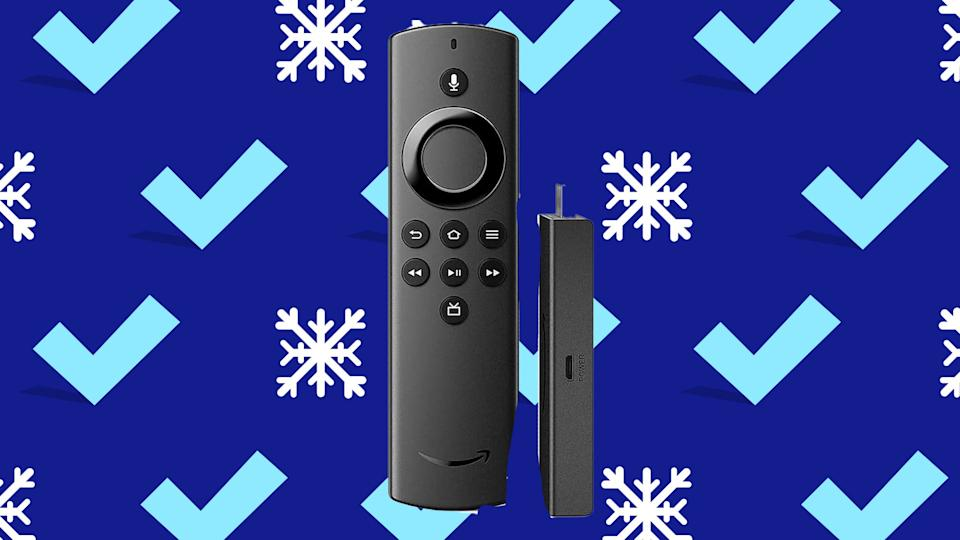Snag Rokus and Amazon Fire Sticks just in time to stream your favorite holiday movies!