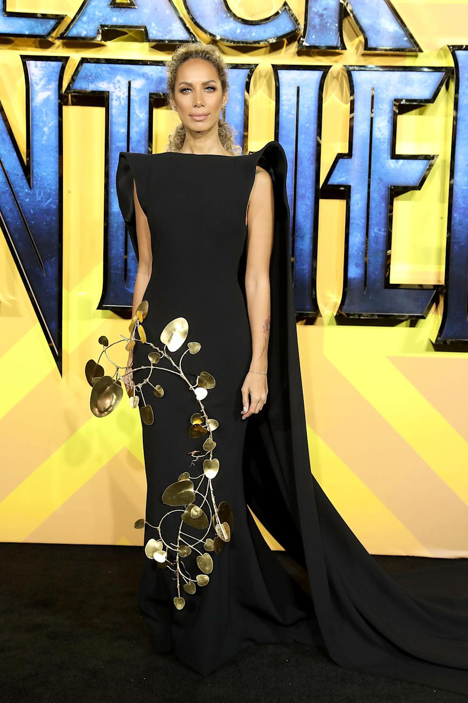 <p>The singer made a style statement in a structured gown by celebrity favourite, Stephane Rolland. <em>[Photo: Getty] </em> </p>