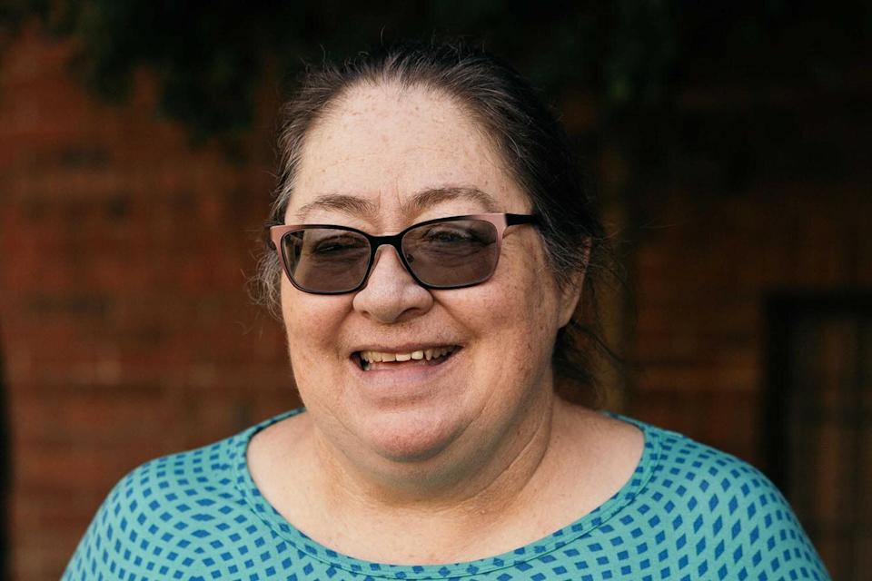 Virginia Medina is a recipient in the Stockton, California, basic income program. She receives $500 a month, no strings attached. Credit: Snap Jackson (Photo: )