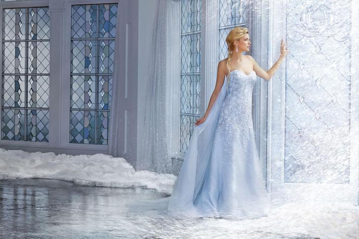"""<p><em>Disney Fairy Tale Wedding Dress Collection, ALFRED ANGELO, From $1,195</em></p><p><a rel=""""nofollow noopener"""" href=""""https://www.alfredangelo.com/Collections/Disney-Fairy-Tale-Bridal"""" target=""""_blank"""" data-ylk=""""slk:BUY NOW"""" class=""""link rapid-noclick-resp"""">BUY NOW</a></p>"""