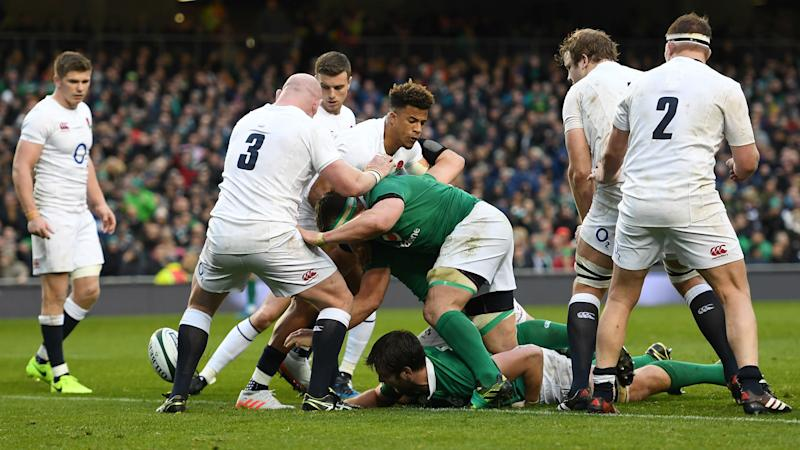 Ireland deny England Slam glory in Dublin