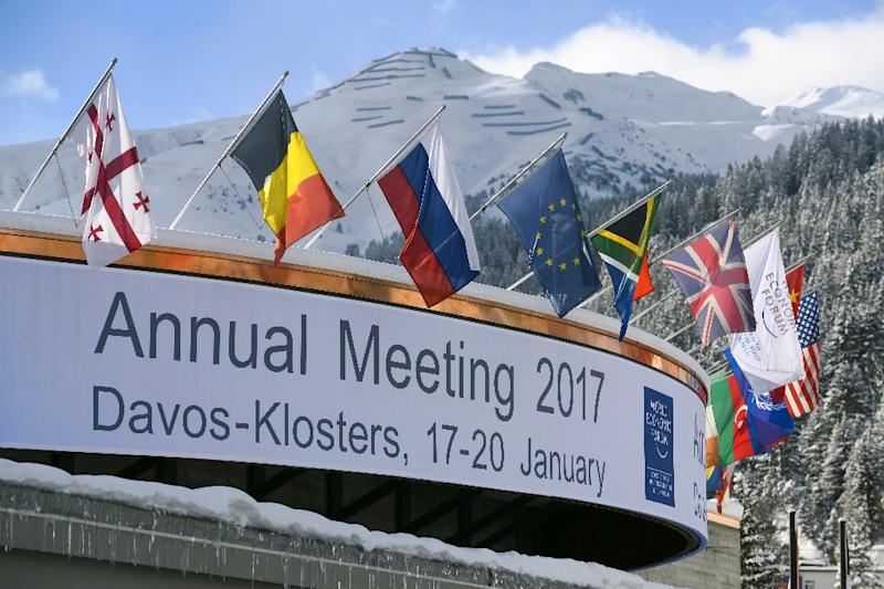 The Congress Centre where the world's political and business elite have been attending the World Economic Forum, in Davos, Switzerland