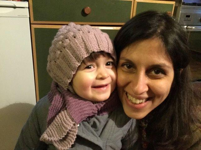 Nazanin Zaghari-Ratcliffe with her daughter Gabriella (Photo: Reuters)