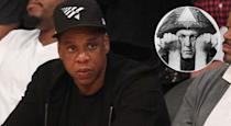 <p>OK, a bit of a spurious one this, but some people are convinced Jay Z is hooked up with British demon-botherer Alisteir Crowley's creepy OTO (Ordo Templi Orientis) movement. The rumours are based on Jay Z's penchant for occult imagery in his clothing line, but he's probably just being <i>edgy</i> rather than hanging out with Satan or whatever.</p>