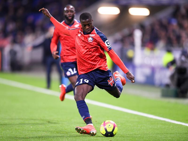 LOSC - Mercato : Nicolas Pépé, Arsenal officialise sa signature