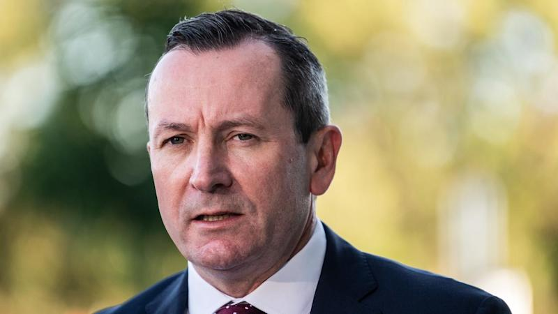 Western Australian Premier Mark McGowan wants police to stop foreigners from leaving cruise ships