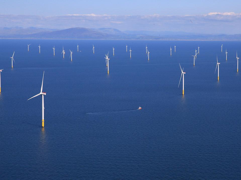 Scotland currently has 1GW of wind, but is aiming to ramp up capacity to 11GW by 2030 (Reuters)