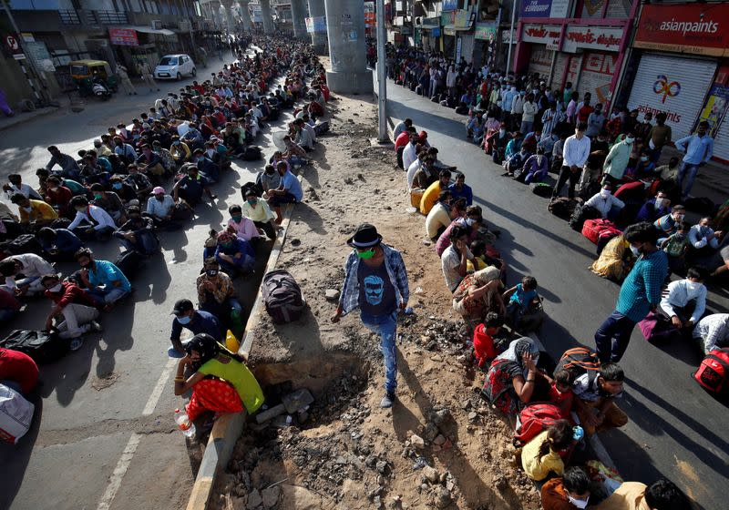 India to provide free food grains to millions of migrant workers