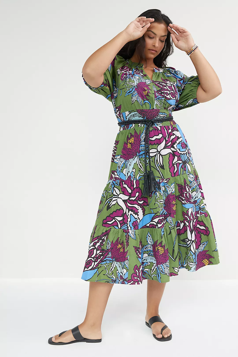 """<h2>Conditions Apply Floral Puff-Sleeved Maxi Dress<br></h2><br><strong>Sizes Available 16W/20W</strong><br><br><em>Shop <strong><a href=""""https://www.anthropologie.com/shop/floral-puff-sleeved-maxi-dress?color=031&type=PLUS"""" rel=""""nofollow noopener"""" target=""""_blank"""" data-ylk=""""slk:Anthropologie"""" class=""""link rapid-noclick-resp"""">Anthropologie</a></strong></em><br><br><strong>Conditions Apply</strong> Floral Puff-Sleeved Maxi Dress, $, available at <a href=""""https://go.skimresources.com/?id=30283X879131&url=https%3A%2F%2Fwww.anthropologie.com%2Fshop%2Ffloral-puff-sleeved-maxi-dress"""" rel=""""nofollow noopener"""" target=""""_blank"""" data-ylk=""""slk:Anthropologie"""" class=""""link rapid-noclick-resp"""">Anthropologie</a>"""