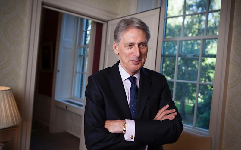 Philip Hammond, the Chancellor - Rii Schroer