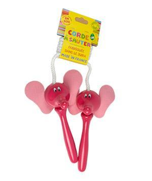 "<div class=""caption-credit""> Photo by: kisanstore.com</div><b>Pink Elephant Jump Rope</b> <p> A classic toy with an unexpected twist-pink elephants for the handles to grip while she jumps. <br> <br> <b>To buy:</b> $27.50, <a href=""https://kisanstore.com/shop-online/product/316-fanfan-pink-elephant-jump-rope-vilac"" rel=""nofollow noopener"" target=""_blank"" data-ylk=""slk:kisanstore.com"" class=""link rapid-noclick-resp"">kisanstore.com</a>. </p>"