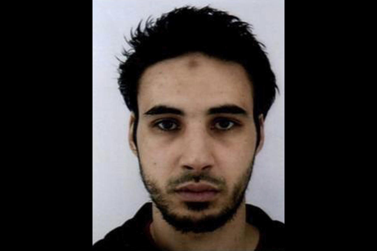 This undated file handout photo provided by the French police, shows Cherif Chekatt, the suspect in the shooting in Strasbourg, France. (Photo: French Police via AP)