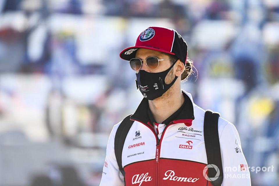 "Antonio Giovinazzi, Alfa Romeo <span class=""copyright"">Mark Sutton / Motorsport Images</span>"