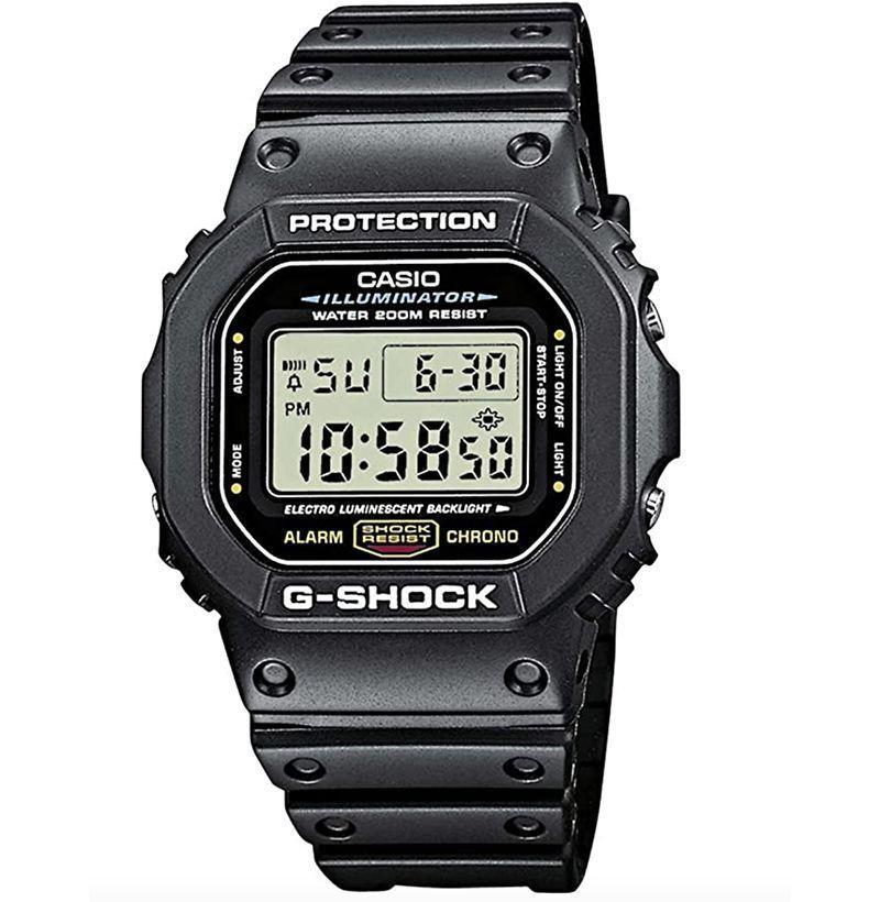 """<p><strong>Casio</strong></p><p>amazon.com</p><p><strong>$54.99</strong></p><p><a href=""""https://www.amazon.com/dp/B000GAYQKY?tag=syn-yahoo-20&ascsubtag=%5Bartid%7C10054.g.35351418%5Bsrc%7Cyahoo-us"""" rel=""""nofollow noopener"""" target=""""_blank"""" data-ylk=""""slk:Shop Now"""" class=""""link rapid-noclick-resp"""">Shop Now</a></p><p>The most reliable shock-resistant watch on the market for a reason. </p>"""