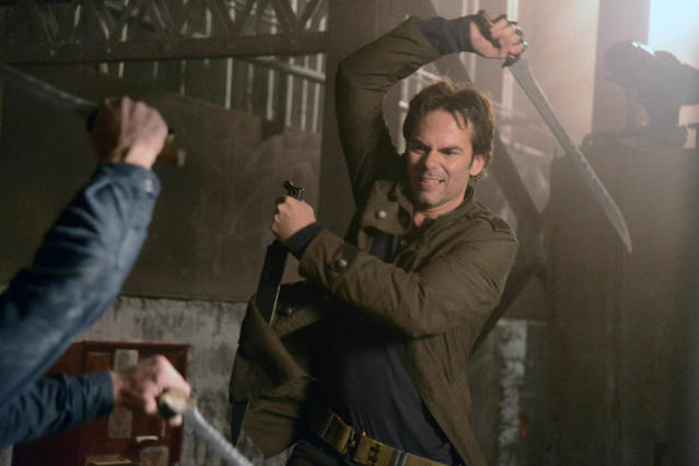 """Nobody's Fault But Mine"" Episode 110 -- Pictured: Billy Burke as Miles Matheson"