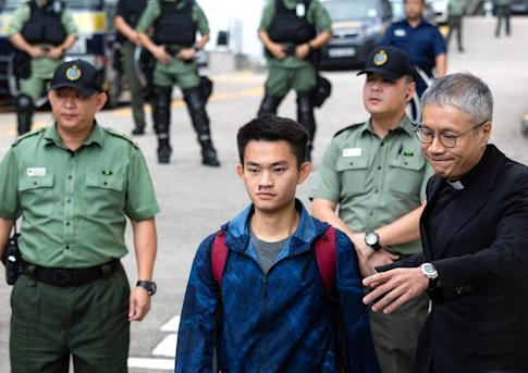 The case of murder suspect Chan Tong-kai, who is living under police protection in Hong Kong, was used by the Hong Kong government to try and push through an extradition bill. But the proposals unleashed violent protests that are still raging after months. Photo: Bloomberg