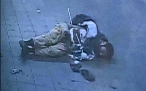 CCTV Port Authority image reported to be of Akayed Ullah - Credit: NY Port Authority/Universal News And Sport