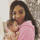 """<p>So much cuteness! The tennis superstar caught her 2-month-old daughter, Alexis Olympia, mid-yawn in a pic she posted Monday morning. (Photo: <a rel=""""nofollow noopener"""" href=""""https://www.instagram.com/p/BbJ6nZ6BvNb/?taken-by=serenawilliams"""" target=""""_blank"""" data-ylk=""""slk:Serena Williams via Instagram"""" class=""""link rapid-noclick-resp"""">Serena Williams via Instagram</a>) </p>"""