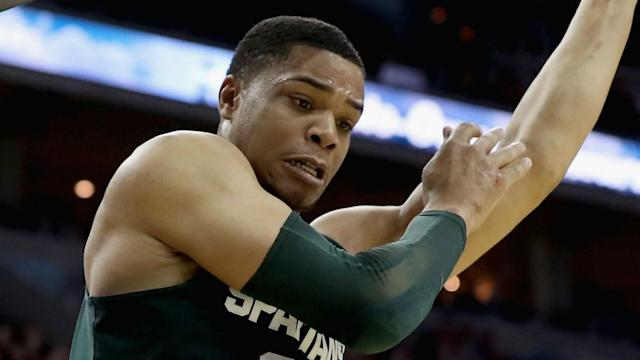 Bridges averaged 16.9 points, 8.3 rebounds and 2.1 assists per game as a freshman at Michigan State.