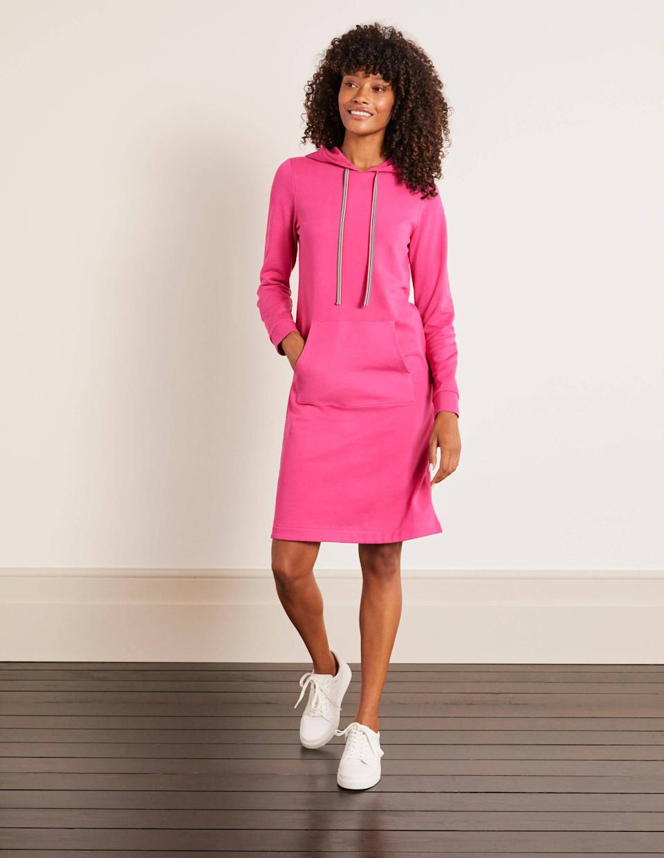 Oriel Sweatshirt Dress. (Boden)