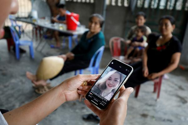 Bui Thi Nhung, 19-year-old woman from Nghe An was also among the names revealed today. (Reuters)